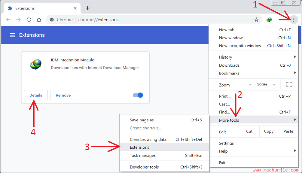 [mcj]IDM重新安装chrome插件|IDM谷歌插件